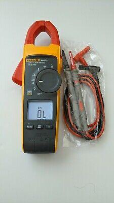 Fluke 902 Fc True Rms Ac Hvac Clamp Meter Multimeter Dmm New Test Leads - Nice