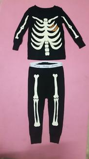 Glow in the Dark Skeleton Halloween Costume 18-24mo