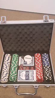 Poker set wity 3 decks of card