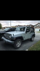2008 jeep wranger x for sale!