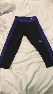 Adidas cropped leggings slightly worn