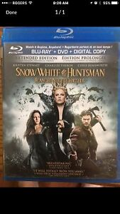 Snow White and the Huntsman Blue Ray London Ontario image 1