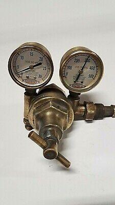 Vintage Craftsman Welding Torch Regulators Acetylene Gauge Steampunk Made In Usa