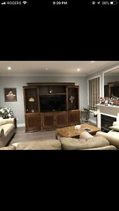 Tv cabinet solid wood
