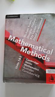 Cambridge VCE Math Methods  (Aust Ed) Units 3 & 4