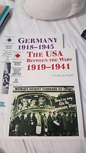 Germany******1945 & The USA between the wars******1941 ATAR Wattle Grove Kalamunda Area Preview