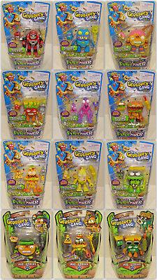 Bug Toys (The Grossery Gang Action Figures - YOUR CHOICE - Moose Toys SEALED Bug TIME)