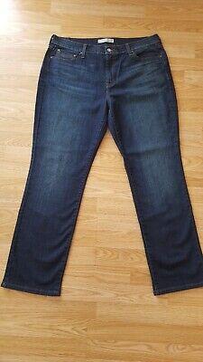 Straight Leg Stretch Shorts (Levi's 505 Straight Leg Jeans Stretch 14 Short - L 29 W 36 )