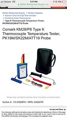 Comark Km28p8 Type Kthermocouple Temperature Tester Restaurant Equipment