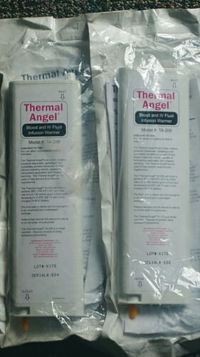 2 - NEW Thermal Angel Blood & IV Fluid Infusion Warmers Model # TA-200