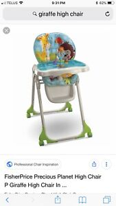 High chair and exerciser