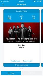Kevin Hart - The Irresponsible Tour - 4 Tickets Available!