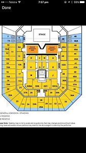 3rd front row KEITH URBAN BRISBANE TICKETS Boondall Brisbane North East Preview