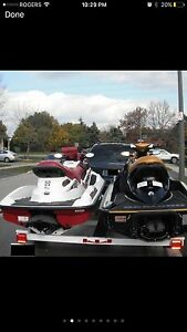 2 brp Seadoo ready to ride gtx rxt