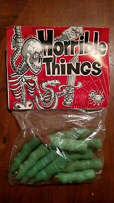 1986 FORUM NOVELTIES HORRIBLE THINGS WITCH FINGERS HALLOWEEN DECORATION NOS](Halloween Witch Fingers)