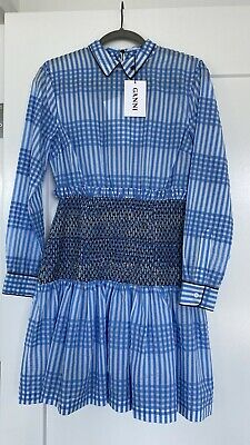 Ganni dress, Sz 38, New With Tags