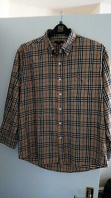 90s Vintage Burberry Shirt