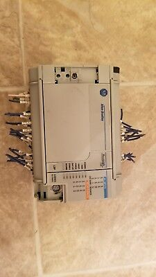Allen-bradley Micrologix 1500 Base Unit 1764-24bwa Ser B Rev A