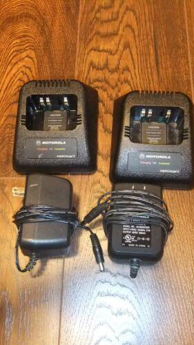 Lot of 2 Motorola RPX4747 Radio Rapid Chargers HT1000 MTS2000 XTS2500 XTS5000