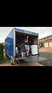 Removalist hire truck with two experience man service