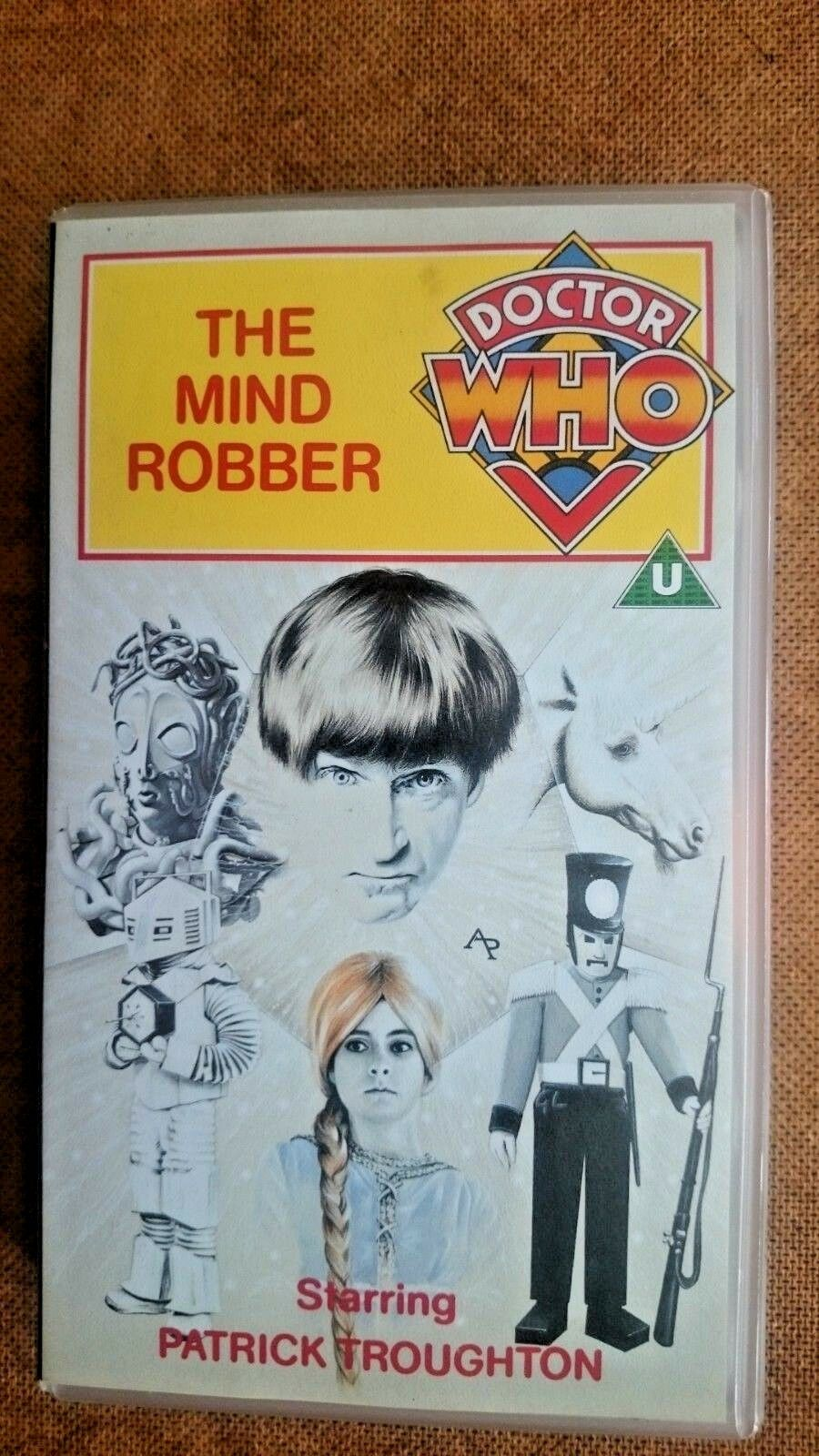 Doctor Who - The Mind Robber (VHS 1990) - Patrick Troughton