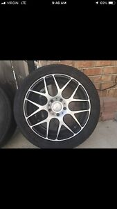 4 Michelin tires on the rims for sell