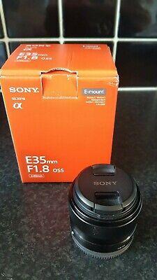 SONY SEL35F18 35mm f/1.8 OSS Lens + HOYA NX-10 UV Filter