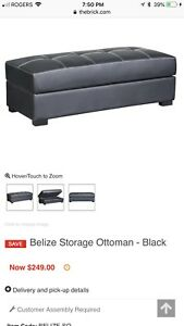 Belize Storage Ottoman *The Brick*