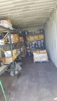Sea Container 40ft/20ft Shelving- HUGE trade in 2nd hand options!