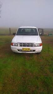 2002 Ford Courier Ute Muswellbrook Area Preview