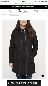 Looking for size large maternity jacket