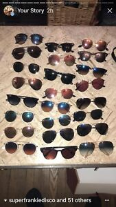 Rayban sunglasses 70 to 120 a lair