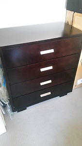 Dark timber drawers Maitland Maitland Area Preview