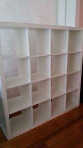 Bookshelf Storage Cubes  white colour South Yarra Stonnington Area Preview