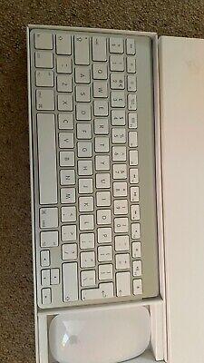 Apple Wireless Keyboard and Magic Mouse bluetooth wireless