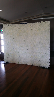 Flower Wall Hire $150