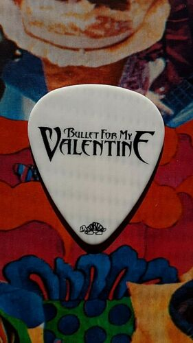 BULLET FOR MY VALENTINE Padge Paget 2010 tour guitar pick (white) - NEW LISTING!