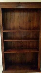 Dark solid wooden bookshelf Ashfield Ashfield Area Preview
