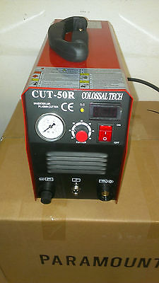New Plasma Cutter 50amp Cut50r Digital Inverter 220v 80 Consumables 2018 Model