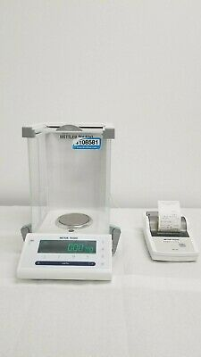 Mettler Toledo Micro Balance Scale Ms105 New Classic Mf 0.01mg - 120g
