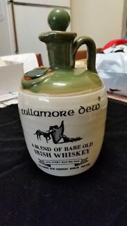 Vintage Tullamore Dew Irish Whiskey Jug