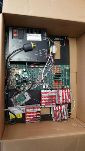 Rauland  NCS2040 RESPONDER IV Power Supply WITH MOUNTING BOARD AND COMPONENTS