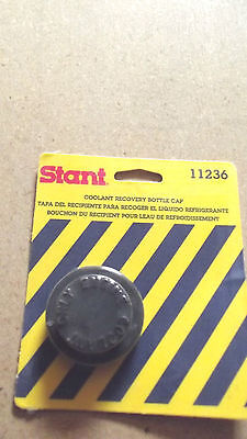 1 STANT #11236 RADIATOR COOLANT OVER FLOW RECOVERY TANK  PLASTIC CAP.1.6.