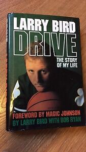 1989 Larry Bird's Drive Hardcover Basketball book