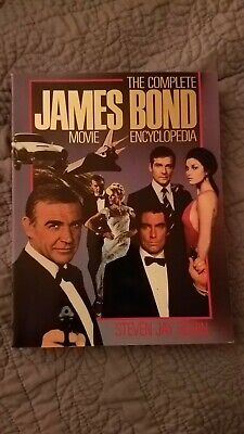 The Complete James Bond Movie Encyclopedia By Steven Jay Rubin Softcover Book