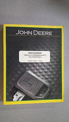 John Deere Pc2046 Parts Catalog - 7200 Front-fold Maxemerge 2 Flex-fold Planters