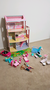Doll House + toys/accessories Pemulwuy Parramatta Area Preview