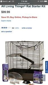 All Living Things Rat Starter Cages