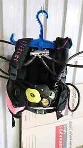 Scuba set including wetsuit. Willagee Melville Area Preview