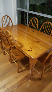 Dinning table and 6 chairs Jacana Hume Area Preview